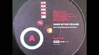 MARRS - Pump Up The Volume (HQ)