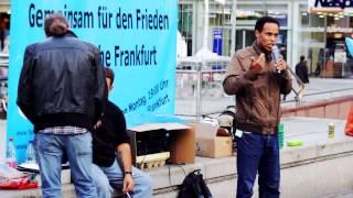 18.08.14 - Friedensmahnwache Frankfurt am Main - [Teil 1]
