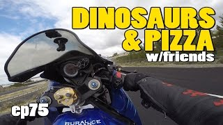 Dinosaurs and Pizza! Cabazon Dinosaurs and the Gourmet Pizza Shoppe in California