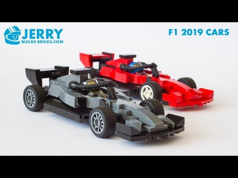 Lego Mercedes And Ferrari 2019 F1 Cars Instructions Moc 93 Youtube