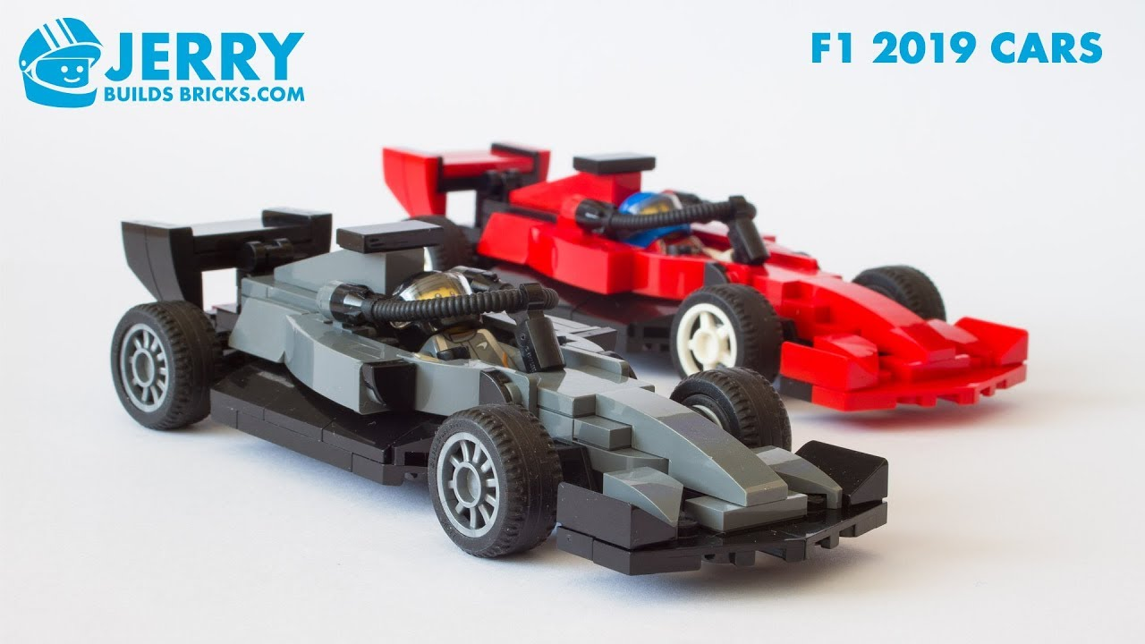 Lego Mercedes And Ferrari 2019 F1 Cars Instructions Moc 93 Youtube