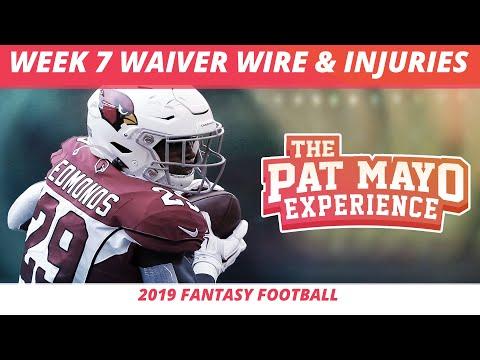 2019 Fantasy Football Rankings — Week 7 Waiver Wire, NFL Injury Report, DraftKings Showdown, Spreads