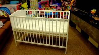 ІКЕА покадрової дитяче ліжечко збірка