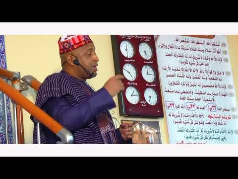 Imam Baaba Galleh Barry''La Recompense Du Bien Fait En Islam''@Futa islamic Center