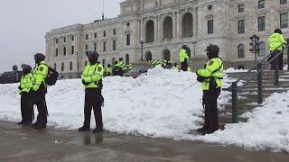 Washington fortifies inauguration security