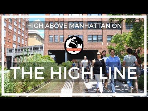 High Above Manhattan on the High Line!