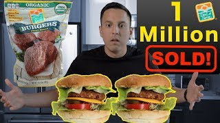 I Tried The MOST SOLD Vegan Burger Taste Test
