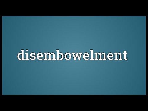Disembowelment Meaning
