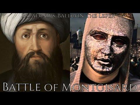 Saladin vs. Baldwin the Leper King - Battle of Montgisard, 1177