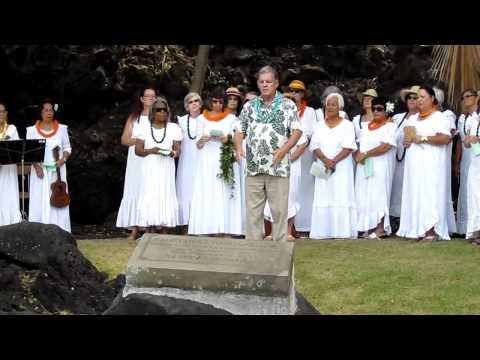 King Kamehameha III Birthday Celebration  in Keauhou 3-17-2011