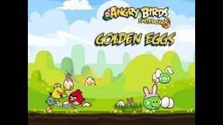 Angry Birds Seasons - Easter Eggs Golden Egg Walkthrough