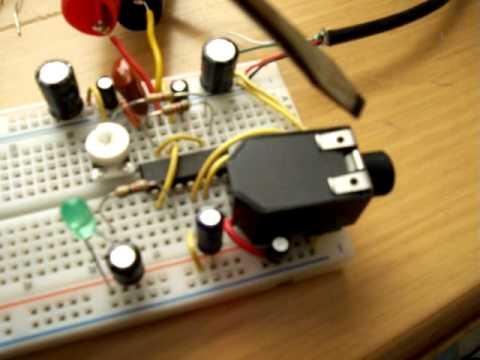 Simple Electric Guitar Tuner [Jim Chen]