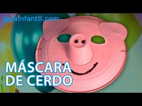 Mascara de cerdo disfraces caseros para carnaval youtube - Difraces para carnaval ...