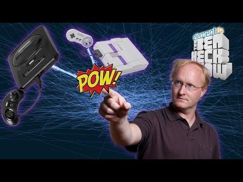 Ben Heck's 16-Bit Console Wars!