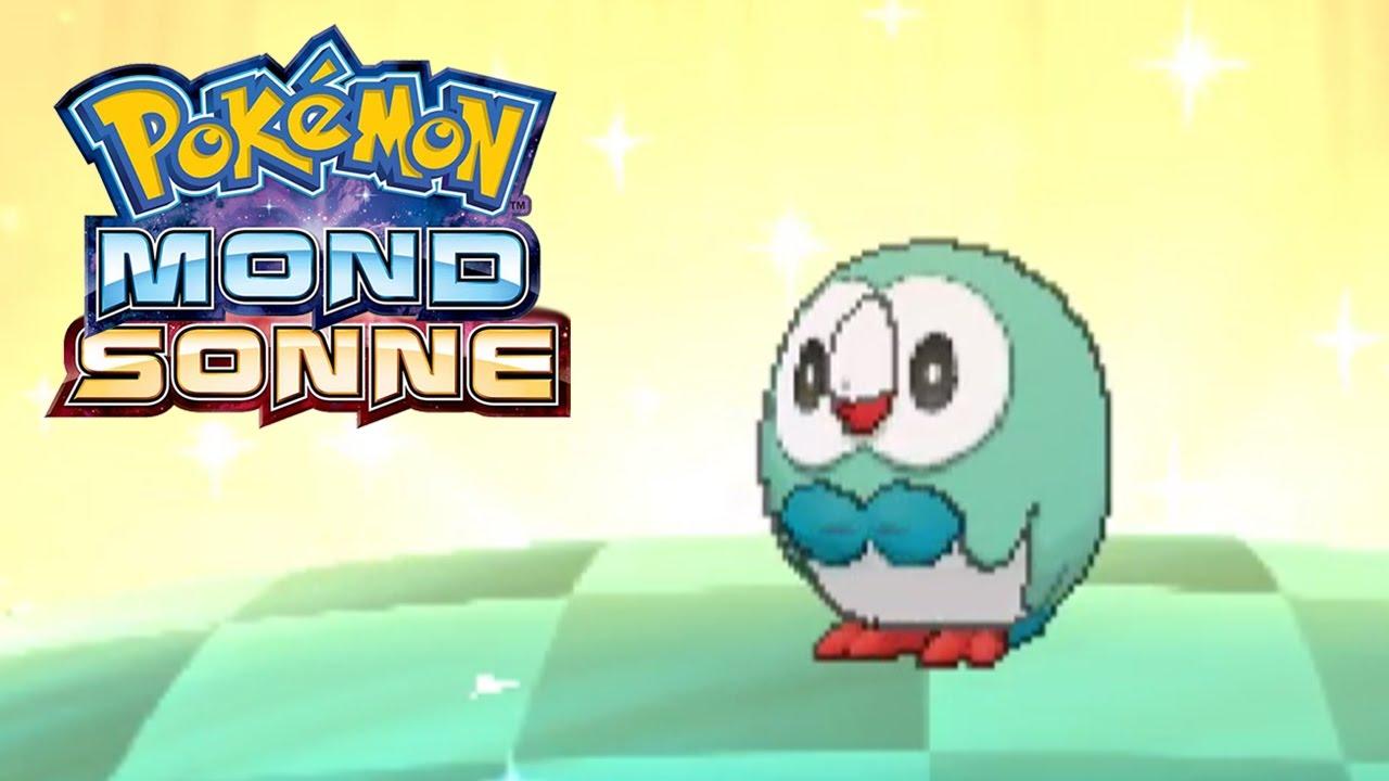 Shiny Bauz Rowlet 433 Eier Live Reaktion Pokémon Sonne Mond