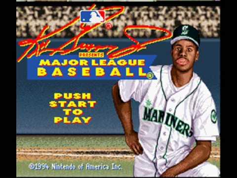 d127db2bea Ken Griffey Jr. Presents Major League Baseball SNES Music - Title ...