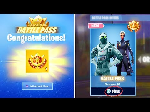 fortnite season 10 battle pass