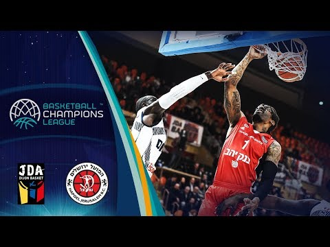JDA Dijon v Hapoel Bank Yahav Jerusalem - Full Game - Basketball Champions League 2018-19