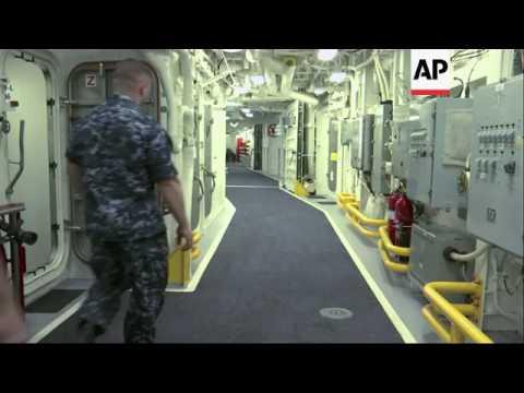 Navy Debuts Futuristic USS Zumwalt Destroyer