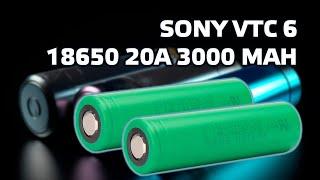 Аккумуляторы 18650 Sony VTC6 - Обзор и тестирование