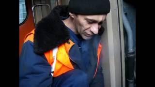 Ремонт взимку на залізниці або скільки праці вкладено що б відправити складу в рейс !