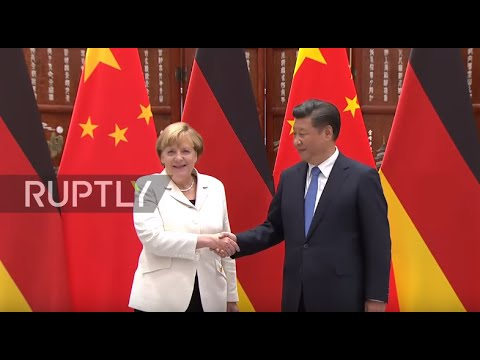 China: Merkel and Xi Jinping hold talks as G20 draws to a close