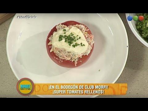 ¡Súper tomatea rellenos! - Morfi