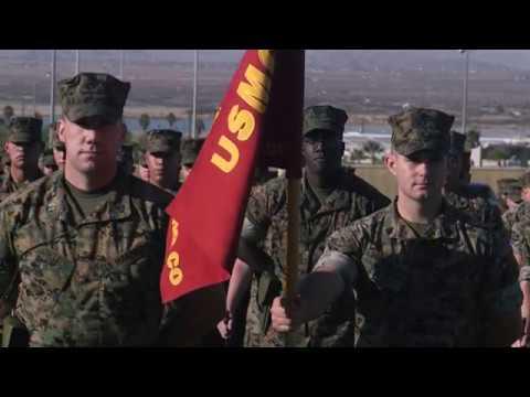 7th Marine Regiment Change of Command