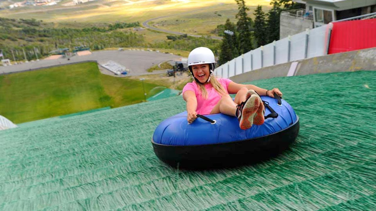 Winter Olympic Village Turned Into Summer Fun Park