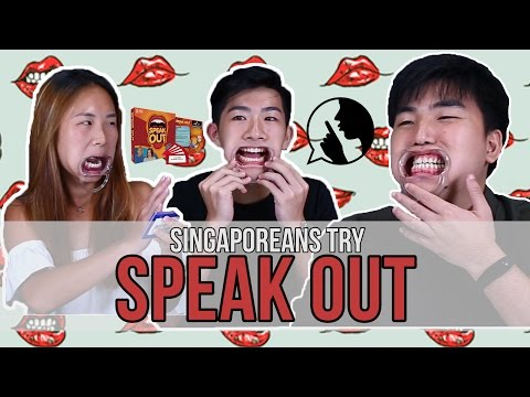 Singaporeans Try: The Mouthguard Challenge (Speak Out)