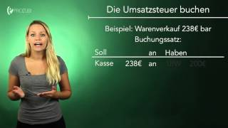 Umsatzsteuer, Vorsteuer und Zahllast richtig buchen! | Wissen für die Ausbildung | Prozubi.de