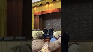 Новобатайск. Собрание по поводу платной дороги