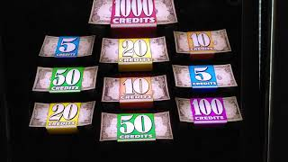 $5,000 Denomination Double Top Dollar Slots @ Home
