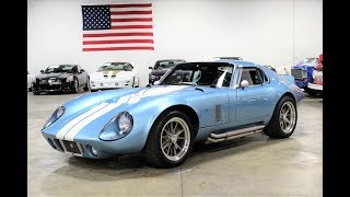 1965 FACTORY FIVE DAYTONA