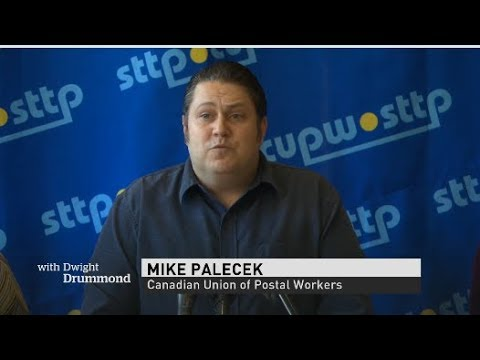 CUPW President Mike Palacek wants Canada Post to operate banking service outlets across the country