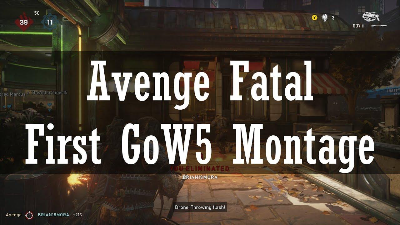 Avenge Fatal - First Gears of War 5 Montage (Tech Test)