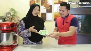 KongsiRasa bersama Rizal Ismail Cara cara membuat Kuih Puteri Sri Ayu Episode 01