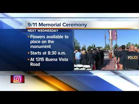 9/11 Memorial Ceremony to take place next week in Bakersfield