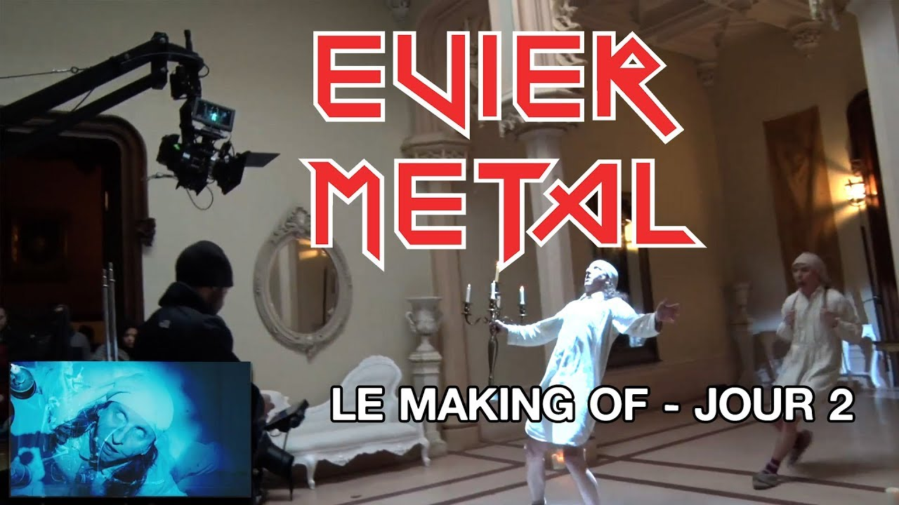 Evier metal making of jour 2
