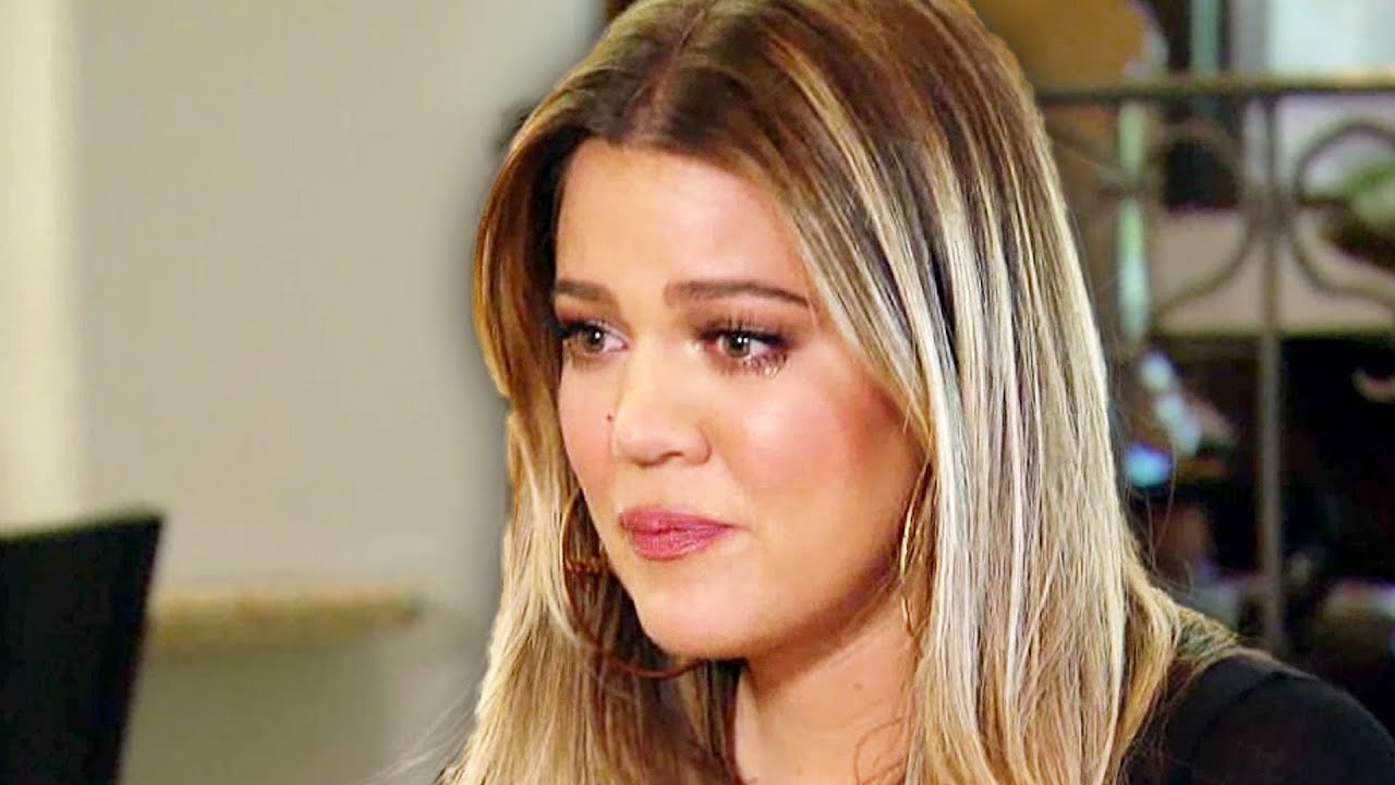 Image result for khloe kardashian crying