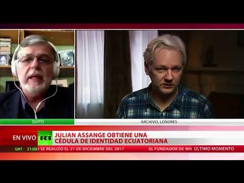 ¿Qué beneficios le otorgaría la cédula ecuatoriana a Julian Assange?