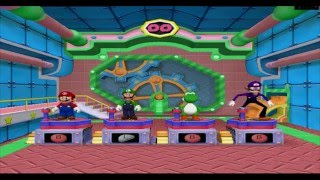 Mario Party 6 - All Minigames 1/5 (4 Players) (HD 60fps)