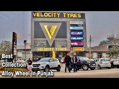 Biggest   Collection Of   Alloy Wheels   And   Tyres   In Punjab   Velocity Tyres