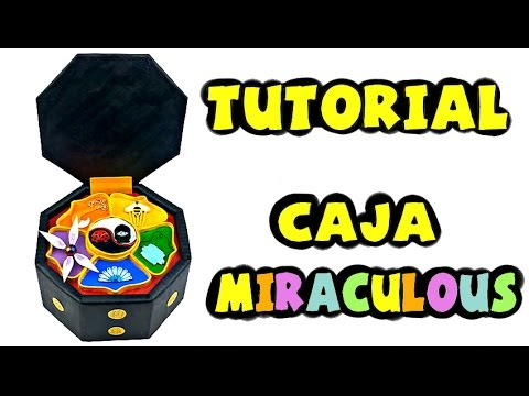 7cfa016d3609 Cómo hacer la caja de los Miraculous - Tutorial Miraculous Ladybug ...