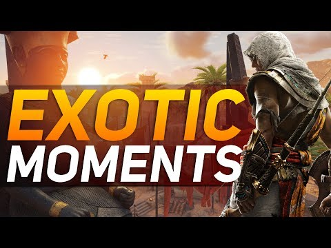 Assassin's Creed Origins - 'Exotic' Moments & Missions (What Does This Mean?)