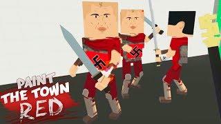 УБИТЬ ГИТЛЕРА ► PAINT THE TOWN RED ОБЗОР КАРТ И МОДОВ! ПЕЙНТ ЗЕ ТАУН РЕД КАРТЫ ПРОХОЖДЕНИЕ!