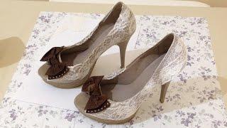 Como Customizar Sapato Salto Alto Velho