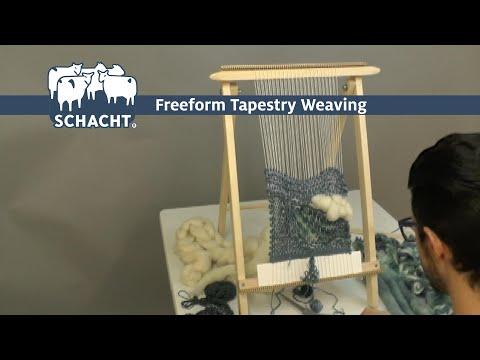 Tapestry Weaving in Three Minutes - Schacht School Loom