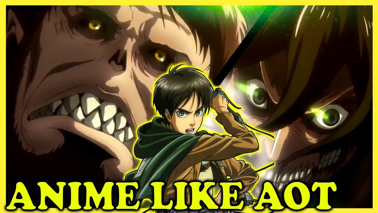 10 Anime Similar To Attack On Titan Anime Like 6 Youtube