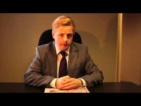 Taoiseach Enda Kenny (aka Oliver Callan) gives his end-of-year address